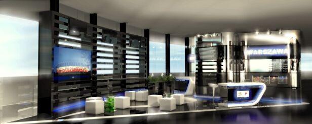 Tak będzie wyglądać stoisko Warszawy na targach MIPIM 2012 / fot. Urząd Miasta