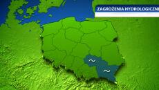 Wysoki stan wód w Wiśle i Sanie