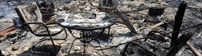 1,5 tys. domów strawionych przez pożar