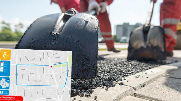 Remonty dróg, prace na torach. Utrudnienia w kilku dzielnicach