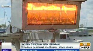 17 słupów stoi na straży bezpieczeństwa mazurskich żeglarzy